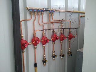 טכנאי גז שי חיים צנרת גז לבניין