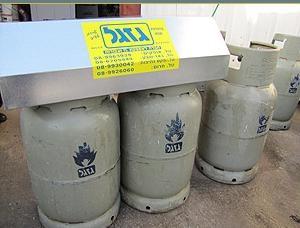 טכנאי גז גזגל אספקת בלוני גז
