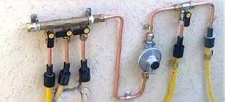 טכנאי גז רון גז פלוס צנרת גז חדשה